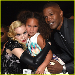 Jamie Foxx's Daughter Met So Many Celebs at Grammys 2015