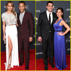 John Legend & Wife Chrissy Teigen Couple Up at NFL Honors 2015