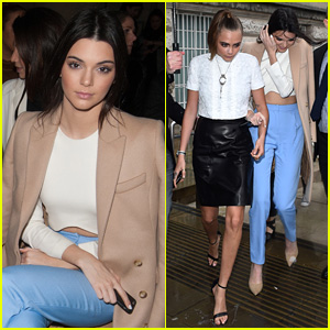 Kendall Jenner & Cara Delevingne Take on Topshop in London