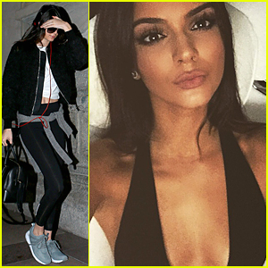 Kendall Jenner Shares Super Hot Selfie Before Milan Fashion Week