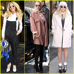 Kesha's Clutch Catches Our Eye During NYFW