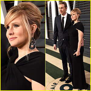 Kristen Bell & Dax Shepard Are So In Love at the Vanity Fair Oscar Party