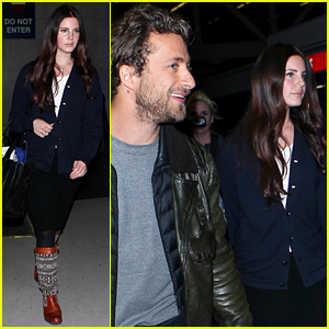 Lana Del Rey Makes it to Los Angeles for Grammys Week
