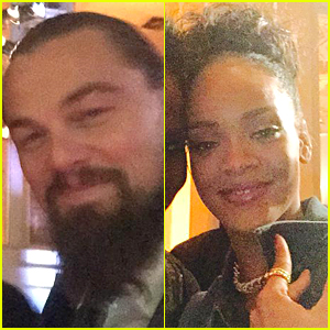 Leonardo DiCaprio & Rihanna Party at 'SNL 40' Celebration