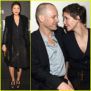 Maggie Gyllenhaal & Peter Sarsgaard Only Have Eyes For Each Other at Miu Miu Screening