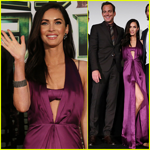 Megan Fox Shows Off Some Leg Action at 'Teenage Mutant Ninja Turtles' Japan Premiere