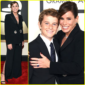 Melissa Rivers Supports Mom Joan's Nom at Grammys 2015