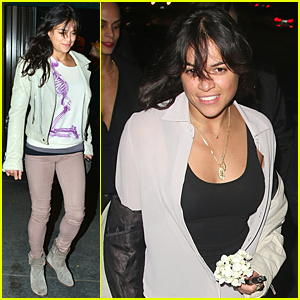 Michelle Rodriguez's DJ Skills Are Impressive on Video - Watch Now!