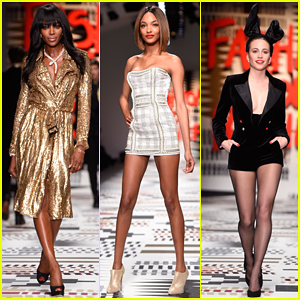 Naomi Campbell, Jourdan Dunn, & More Hit The Runway at Fashion For Relief Charity Show 2015!