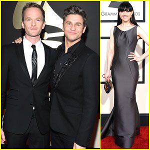 Neil Patrick Harris & David Burtka Are a Picture Perfect Pair at Grammys 2015