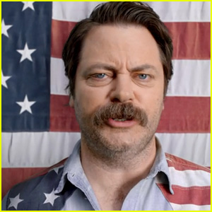 Nascar Super Bowl 2015 Commercial: Nick Offerman Sings for America to 'Start Your Engines' - Watch Now!