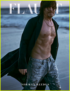 Norman Reedus Goes Shirtless for Hot 'Flaunt' Cover!