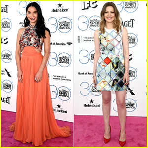Olivia Munn & Gillian Jacobs Are Pretty Presenters for Spirit Awards 2015!