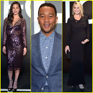 Olivia Munn & John Legend Get Ready For Oscars Weekend