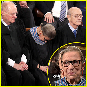 Ruth Bader Ginsburg 'Was Not 100% Sober' at State of the Union