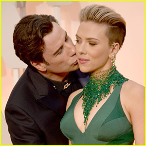 Scarlett Johansson Speaks Out About John Travolta Kiss