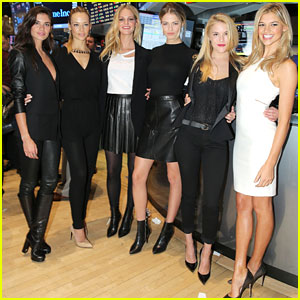 Sports Illustrated Swimsuit Models Ring the NYSE Bell