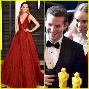 Suki Waterhouse Attended Oscars 2015 with Bradley Cooper!