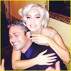 Taylor Kinney Shares Cute Engagement Photo with Lady Gaga!