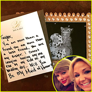 Taylor Swift Will Be BFF Britany Maack's Maid of Honor
