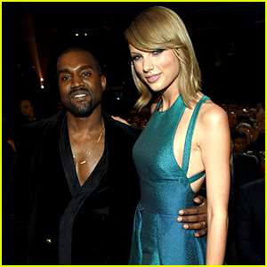 Taylor Swift & Kanye West Make Nice at Grammys 2015!