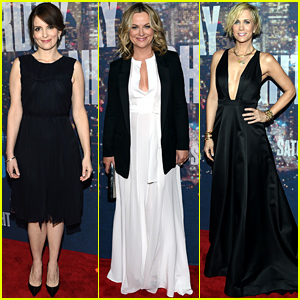 Tina Fey, Amy Poehler, & Kristen Wiig Are All Ready for 'SNL 40'!