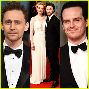 Tom Hiddleston Gets All Suited Up for the BAFTAs 2015