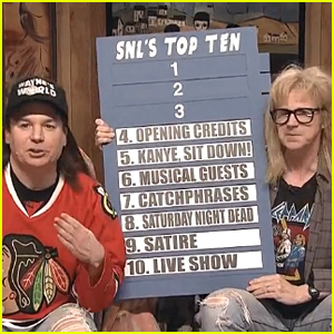 Mike Meyers & Dana Carvey Bring Back 'Wayne's World' for 'SNL 40' - Watch Now!