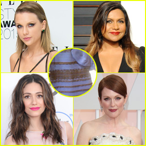 Celebrities Join the 'What Color is This Dress' Debate!