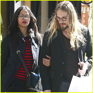 Zoe Saldana & Marco Perego Shop for Twins Cy & Bowie!