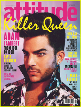 Adam Lambert Can't Help Gushing About Sam Smith in 'Attitude'
