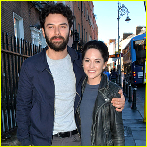 Poldark's Aidan Turner Is Not Engaged to Sarah Greene