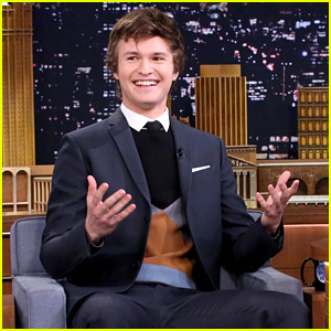 Ansel Elgort's Mom Didn't Know Who Bruce Willis Was (Video)