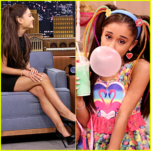Ariana Grande Does Epic Celine Dion Impression - Watch Now!
