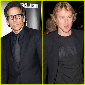 Ben Stiller & Owen Wilson Take Break From Filming 'Zoolander 2' for Fondazione Francesca Rava Charity Dinner!
