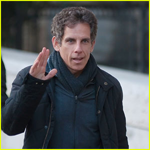 Ben Stiller is Really, Really Ridiculously Good Looking Filming 'Zoolander 2'