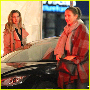 Cameron Diaz & Drew Barrymore Have a Girls' Night Out!