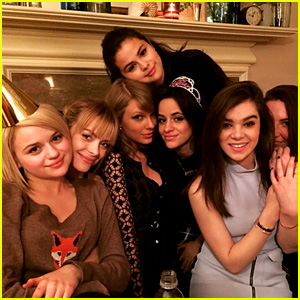 Taylor Swift & Selena Gomez Party With the Girls!