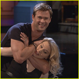 Chris Hemsworth Channels 'Dirty Dancing' for 'SNL' Promos!