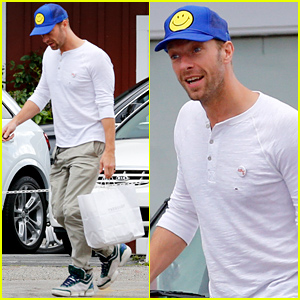 Chris Martin Steps Out Before His 38th Birthday!