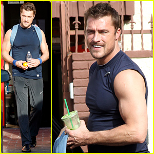 'Bachelor' Hottie Chris Soules Shows Off His Bulging Biceps at 'DWTS' Rehearsal