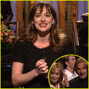 Dakota Johnson Hosts 'SNL' -