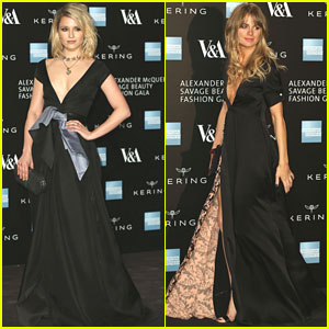 Dianna Agron & Cressida Bonas Are 'Savage Beauties' At Benefit Dinner in London