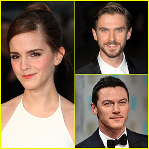 Emma Watson Welcomes Beauty & the Beast's Dan Stevens & Luke Evans to the Cast!