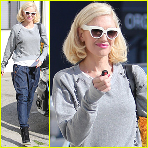 Gwen Stefani Steps Out Smiling After Stalker Scare