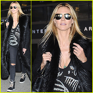Heidi Klum Doesn't Want to Be Pushy Mother to Her Kids