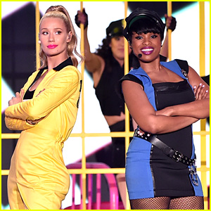 Iggy Azalea & Jennifer Hudson Perform 'Trouble' Together at Kids' Choice Awards 2015 (Video)
