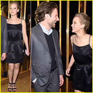 Jennifer Lawrence & Bradley Cooper Are Still Laughing at 'Serena' After Party
