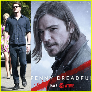 Josh Hartnett's New 'Penny Dreadful' Character Poster Debuts