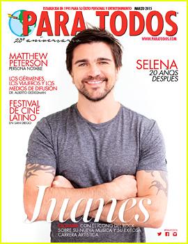 Juanes Covers 'Para Todos' Magazine! (Exclusive)